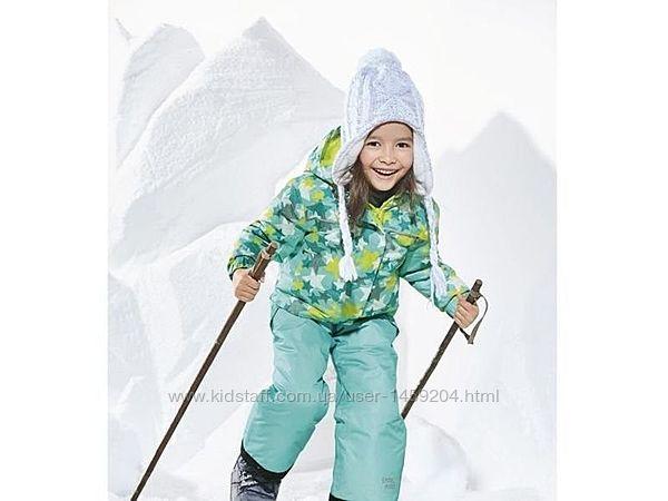 Зимний лыжный термо костюм куртка полукомбинезон комбинезон мембрана, Lupil