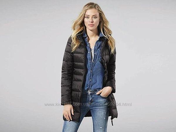 Женское термо пальто куртка удлиненная Esmara Германия, Bionic Finish Eco