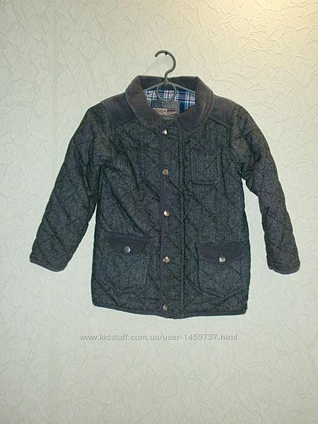 Пальто, куртка стеганная, ветровка для мальчика 6-7лет