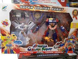 Набор трансформеров Праймбот робот, оружие, звук, свет