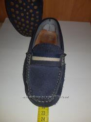 Мокасины Zara р. 34, 21, 5 см стелька, бу.