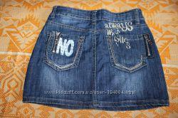Джинсова юбка. 26 розмір