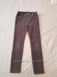 Вельветовые брюки H&M 128- 134 рост 8-9 лет. Замеры