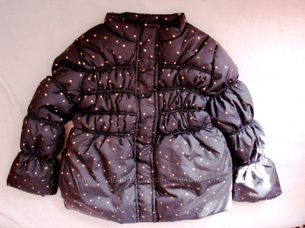 Яркая куртка еврозима Crazy8 на 5-6 лет