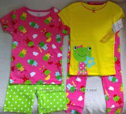 пижамки набор из 4 единиц Carters на 5 лет