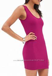 платье размер С, цвет маджента, с американского сайта Форевер21