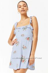 летнее платье, размер С, FOREVER 21