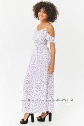 летнее MAXI платье, размер С, FOREVER 21