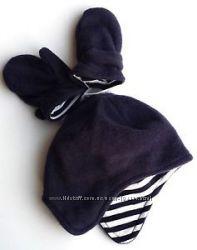 Флисовая шапка GAP с рукавичками. Размер 18-24 мес