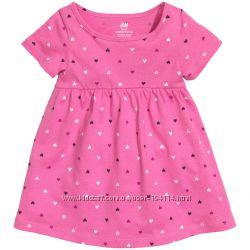 Платье трикотажное H&M. Рост 80