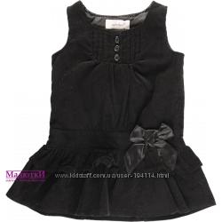 Платье Primark велюр. 9-12 мес