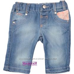 Бриджи джинсовые F&F. 86, 104, 116р