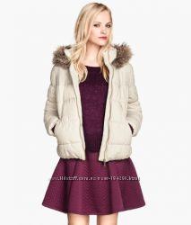 Теплая куртка H&M, 42-44, XS