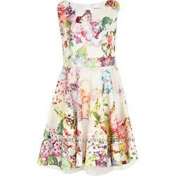 Красивое  платье, Англия, девочке на 10-11лет