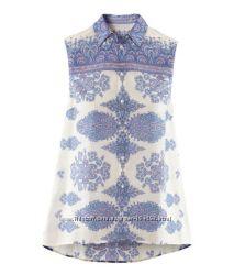 Модные блузы-рубашки, S, M, L