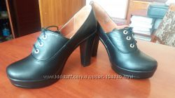 Новые женские кожаные туфли