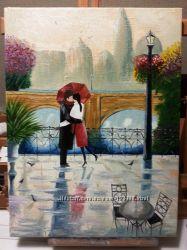Картина маслом Романтика Под заказ
