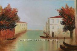 Картина маслом Венеция 40x60 cm