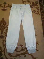 Брючки из летнего джинса