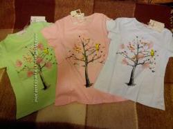футболочка для девочки р. 104-134