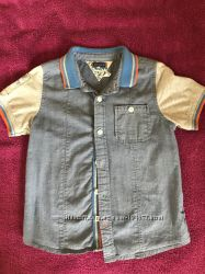 Рубашка chicco с апликацией  104см на 4 года