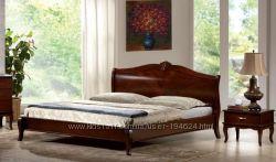 Для королівської постави ці ліжка вдалися на славу. Двоспальні ліжка дерево