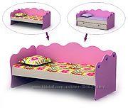 Кроватки-диваны для Ваших детей, один или два яруса  -  выбирай скорей