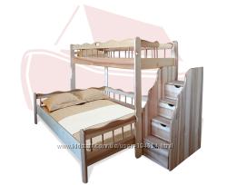 Кроватки для троих детей - решение многих семей
