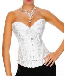 Белый свадебный корсет с вышивкой, 690 грн. Корсеты женские купить ... 607f060f20c