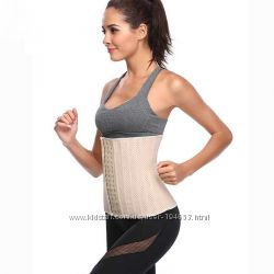 Корсет для похудения с 25 косточками дышащий