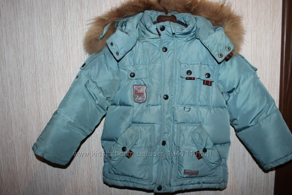 Зимний комплект - куртка и комбинезон BILEMI р. 104