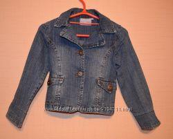 Джинсовый пиджак на девочку 8 лет