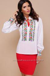 536eec40d297d26 Блузка рубашка с украинским орнаментом в национальном стиле патриотическая