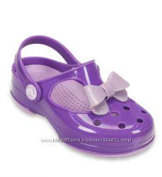 Кроксы Crocs Girls Carlie Bow Mary Jane  13 размер
