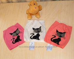 Супермодные шапочки-кошечки девчонкам 3-5 лет.