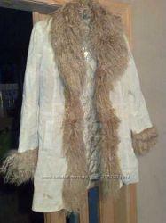 куртка кожаная Италия  размер S