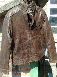 куртка кожаная Silver размерХХL