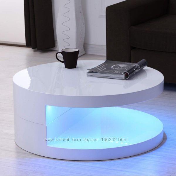 Столики с LED подсветкой из Италии