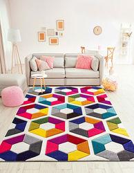 Стильные ковры из Италии, размер 160х230 см, много моделей.