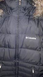 зимнее пуховое пальто коламбия