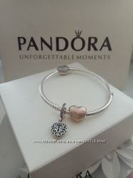 Шармики и подвески для браслета Pandora Пандора