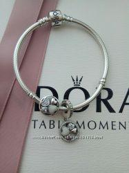 Шармик, клипсы и браслеты Pandora Пандора