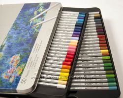Карандаши цветные Marco Raffine 50 шт в мет. пенале. Низкие Цены