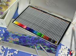 Карандаши цветные Marco 36 шт в мет. пенале . Летние скидки