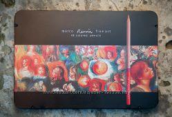 Карандаши Renoir MARCO 24, 36, 48 цветов. Есть акварель 48 цв. В наличии.