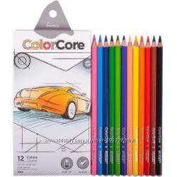 Цветные карандаши премиум класс Marco ColorCore 12, 24, 36 цв.