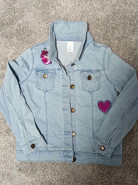 Джинсовая куртка Carters 12 лет