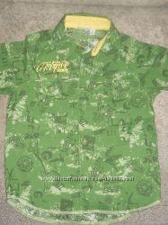 Модные рубашки мальчику на 3-5 года EDC NEXT, Blue Seven