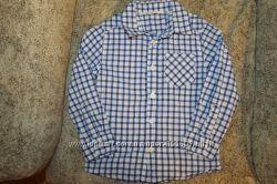 Модные рубашки мальчику на 2-4 года H&M, NEXT