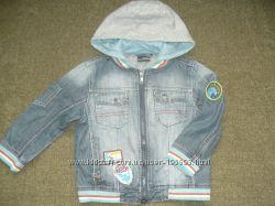 Джинсовый пиджак ветровка NEXT на 2-3 года 98см